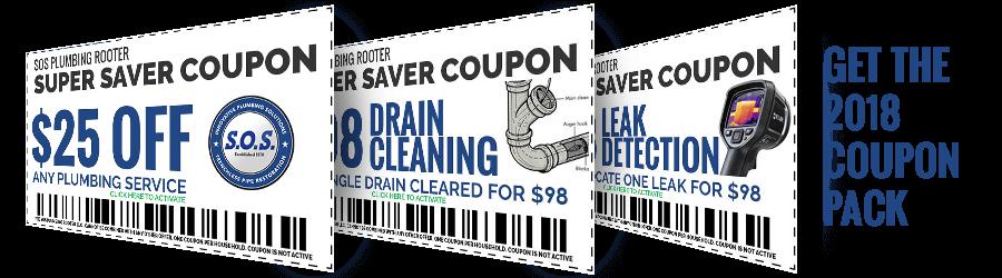 2018 Orange County plumbing Coupons
