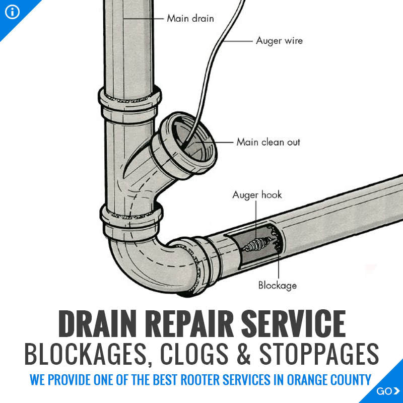Orange County Drain Repair Service