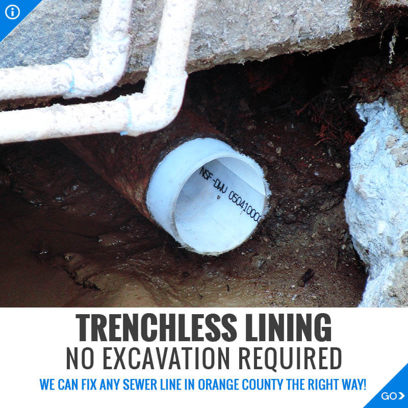 Trenchless Lining and Trenchless No Dig Sewer Repair
