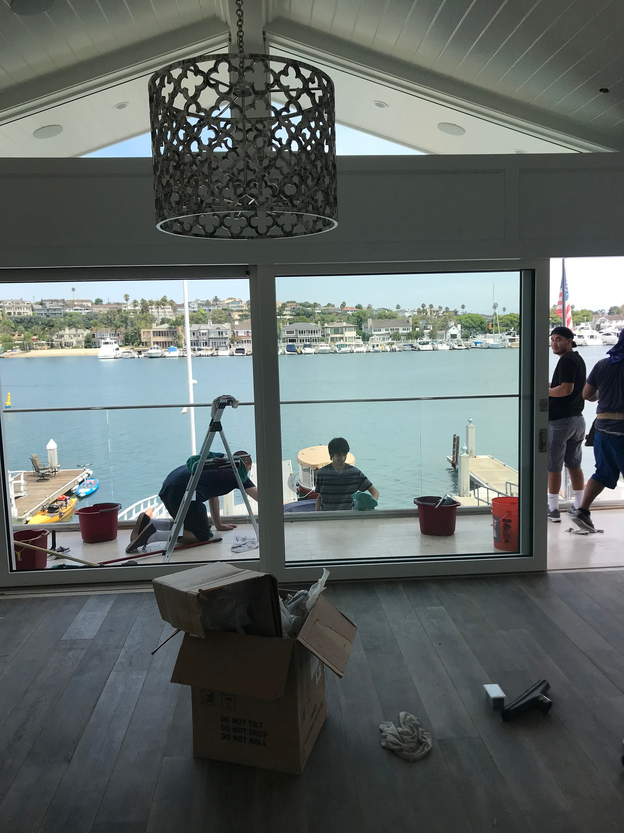 Plumbing Remodel on Lido Island California