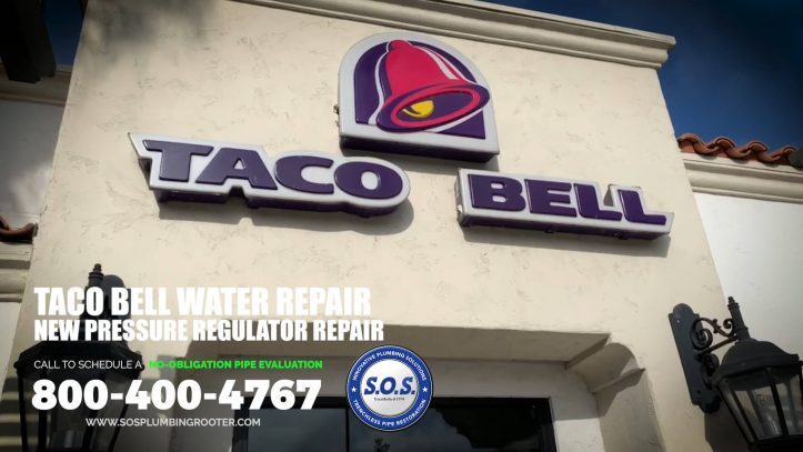 Taco Bell Water Pressure Regulator Repair