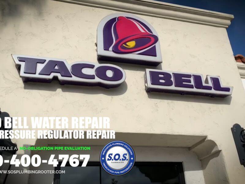 Taco Bell Water Pressure Regulator Repair
