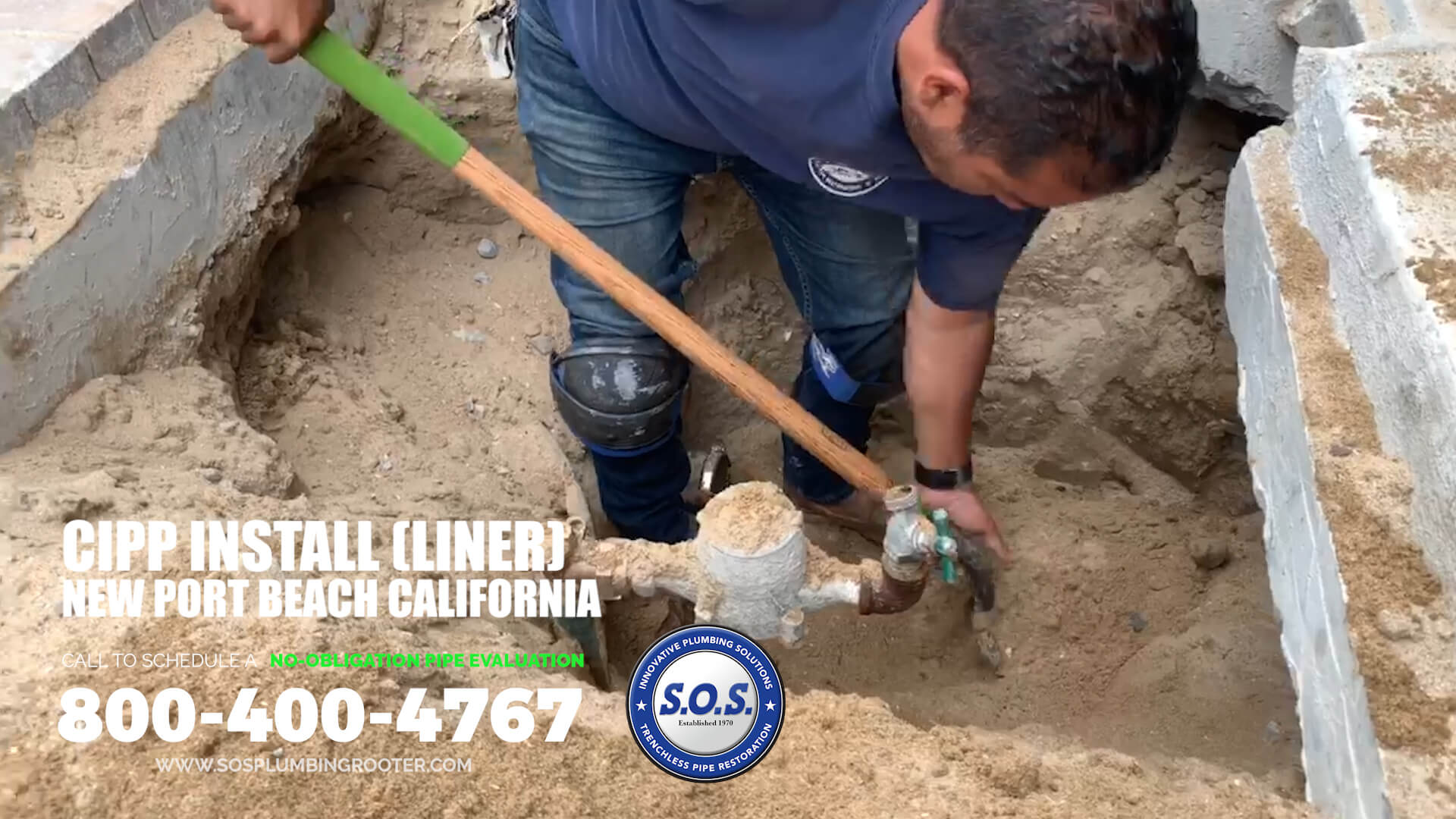 cipp repair newport beach