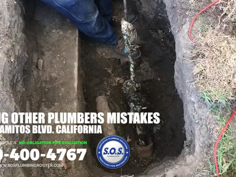 fixing other plumbers mistakes
