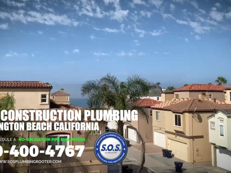 New Construction Plumbers Huntington Beach CA